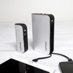 High Definition Visual Prototype of MyCharge portable charger